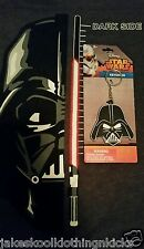 New Star Wars Darth Vader Rubber Silicone Keychain Keyring The Force Awakens NIP