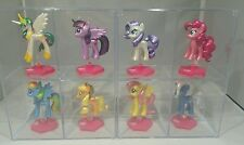 My Little Pony Chrome Metallic Mini Collection figure Whole Set 8 of them 2.5""