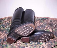 WW2 German Wehrmacht soldiers  leather boots - hobnails - Iron Heels sz 8