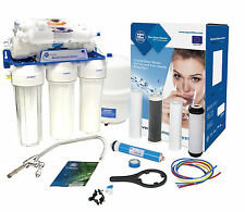 AquaFilter 6 Stage Reverse Osmosis System 75GPD Membrane