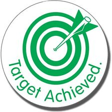 ST64 Target Achieved Pre-inked School Marking Stamper Primary Teaching Services