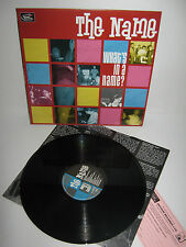 THE NAME – What's In A Name – vinyl LP – UK Mod