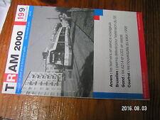 1µ? Revue Tram 2000 n°199 Zebres de STIB MTUB LIJN STIB