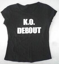 T-Shirt K.O Debout - taille S - Comme neuf