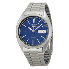 Seiko 5 Automatic Blue Dial Stainless Steel Mens Watch SNXF03K