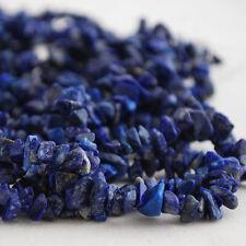 """Semi-Piedras Preciosas Lapis Lazuli cuentas Chips 36 """""""
