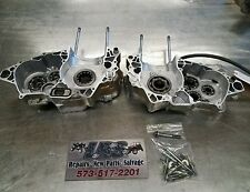 2005 Honda CRF450R CRF450 right & left Engine Crank Case Crankcase
