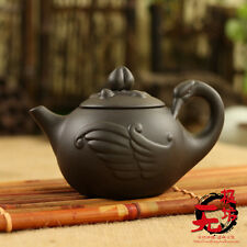 Chinese yixing zisha Handwork Purple Clay Swan Tea Pot 170CC