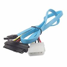 7 Pin Sata to SAS 29 Pin & 4 Pin Connector Power Cable LW SZUS