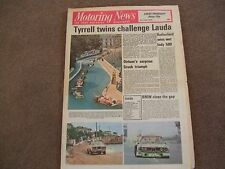 Motoring News 3rd June 1976 Acropolis Rally Monaco GP F2 Nurburgring 1000kms