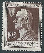 1927 REGNO VOLTA 60 CENT MNH ** - CZ25-8