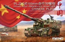 Meng Model TS-022 1/35 Chinese PLZ05 155mm Self-Propelled Howitzer