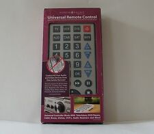 Jumbo Universal Remote Control North Point Products Controls Multiple Devices