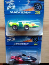 Hot Wheels Lot - Sharkruiser and Dragon Wagon