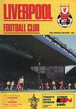 1985/86 Liverpool v Watford, FA Cup, PERFECT CONDITION