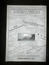 Revue N) 18 1991 Association nationale du souvenir de la bataille de verdun 1914