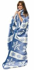 Snow Flake  Warm Me Up Blanket Wrap Keeps you warm and cozy