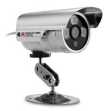 """Caméra Cam CCTV CMOS 1/3"""" PAL 1000TVL HD LED IR Vision Nocturne Étanche Sécurité"""