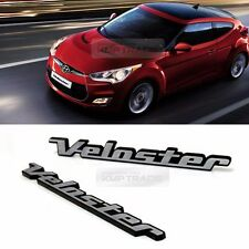 Side Front Trunk Hairline Emblem Point Logo Badge 2p for HYUNDAI 11-16 Veloster