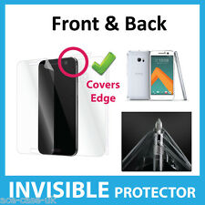 HTC 10 INVISIBLE Screen Protector Shield Full FRONT AND BACK Military Grade