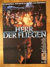 Herr der Fliegen (Kinoplakat '90) - Balthasar Getty / Chris Furrh / Harry Hook
