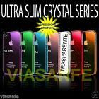Cover Custodia Bumper Per iPhone 5S 5 Trasparente Crystal Rigida + Pellicola