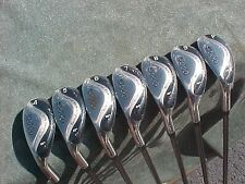 All Hybrids Left Hand LH Golf Clubs Iron Set Oversize Easy Hit w Graphite Shafts
