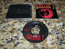 Stelar 7 (PC, 1993) Game Program Windows (Near Mint)