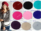 Soft Wool Blend Warm Women Beret Beanie Hat Cap French Artist Lady New Fashion