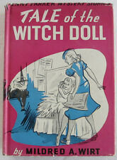Penny Parker #1 Tale of the Witch Doll Mildred A Wirt Nancy Drew Author DJ