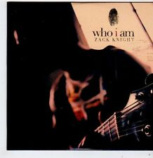 (FG536) Who I Am, Zack Knight - 2012 DJ CD