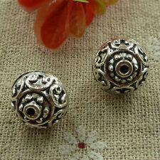free ship 100 pcs tibetan silver nice spacer beads 13mm #2864