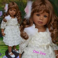 Masterpiece Dee Dee, African American Exclusive, Long Brown Wig  Monika Levenig