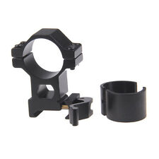 25.4/ 30 mm High Ring 20mm Weaver Picatinny loop QD Quick Release Scope Mount UK