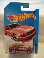 2014 Hot Wheels E case Super Treasure Hunt '07 Ford Mustang