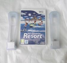 WII SPORTS RESORT AND MOTION PLUS X 2 WII