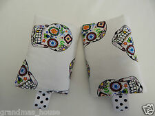 Baby Carrier Dribble Teething Drool Pads Suits Most Carriers+ Ergo Sugar Skulls