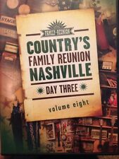 Country's Family Reunion NASHVILLE DVD! Day 3, Volume Eight! FREE SHIPPING! Z7