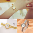 Fashion Women's Lady Bracelet Stainless Steel Crystal Dial Quartz Wrist Watch CH