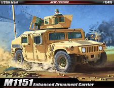 Academy 13415 1/35 M1151 Enhanced Armament Carrier Model Kit Armored Vehicle New