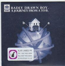 (EM933) Badly Drawn Boy, A Journey From A to B - 2007 DJ CD