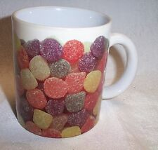Coffee Cup Mug With Photo Image of Multi-Colored Gumdrops New
