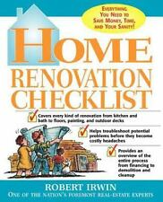 Home Renovation Checklist: Everything You Need to Know to Save Money, -ExLibrary