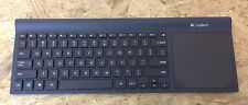 Logitech TK820 Wireless All-In-One Keyboard with Built-In Touch pad NO RECEIVER