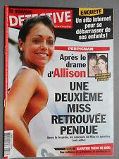 ► LE NOUVEAU DETECTIVE N°1618 - 2013 - MISS FRANCE - ALLISON PERPIGNAN - NICE