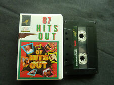 87 HITS OUT ULTRA RARE CLAMSHELL CASSETTE TAPE! KIM WILDE NEW ORDER BERLIN