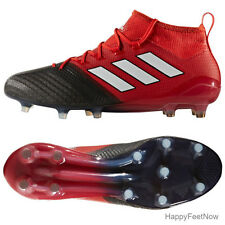 ADIDAS ACE 17.1 PRIMEKNIT FG SOCCER CLEATS MEN'S SIZE US 11.5 RED BLACK BB4316