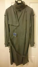 YVES SAINT LAURENT MENS TRENCH COAT / MAC / OVER COAT - VINTAGE - MOD - YSL BNWT