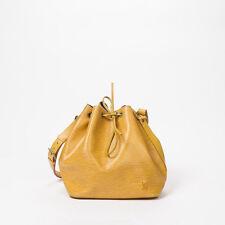 100% Authentic Louis Vuitton - Noe PM Yellow Calf