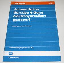 VW Passat 35i B3 Automatik Getriebe 4 Gang elektrohydraulisch  SSP 112  1989
